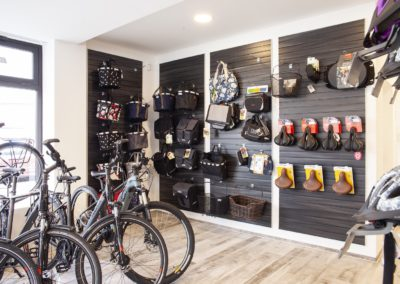 Slatwall for Bicycle Accessories